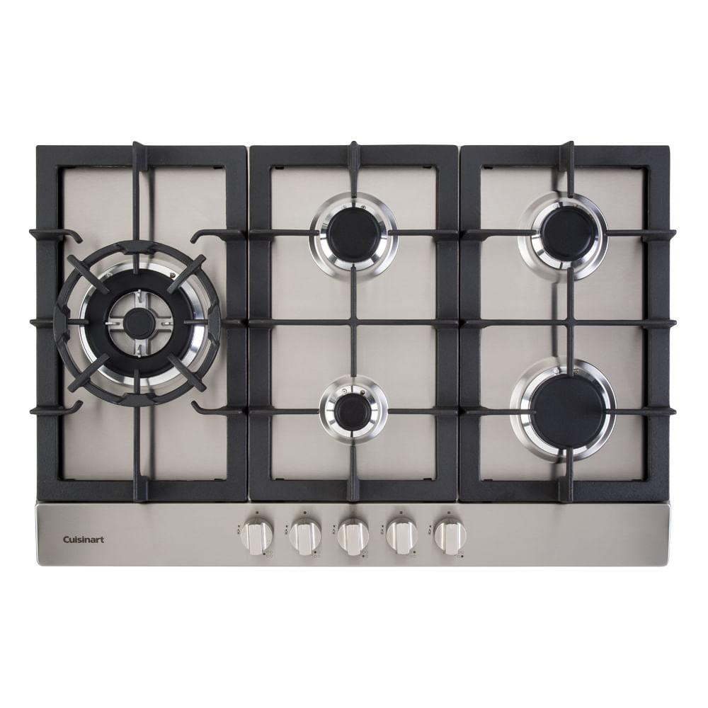 Cooktop a Gás Cuisinart Prime Cooking 5 Queimadores 75cm 220V 409274011