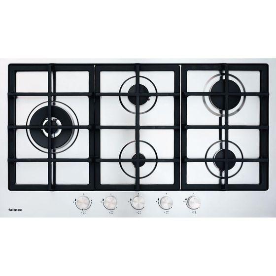 Cooktop-a-Gas-Falmec-Gourmet-FD905GX-5-Bocas-Inox-Grelha-Gusa-90cm-Bivolt-5212220