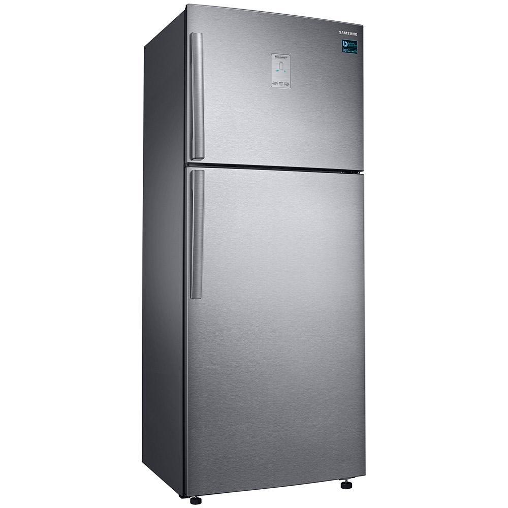 Refrigerador Samsung RT6000K Twin Cooling Duplex 453 litros Frost Free Inox 110V RT46K6361SL / AZ