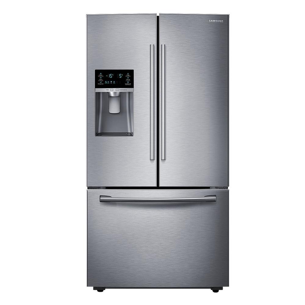 Refrigerador Samsung French Door 3 Portas 530 Litros Inox 110V RF23HCEDBSR / AZ