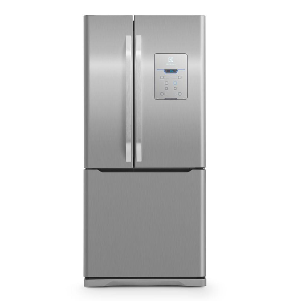 Refrigerador Electrolux French Door DM83X 579 Litros Inox 110V 02593FBA189