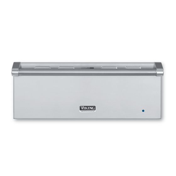 VEWD527SS_27_Built-In_Electric_Warming_Drawer