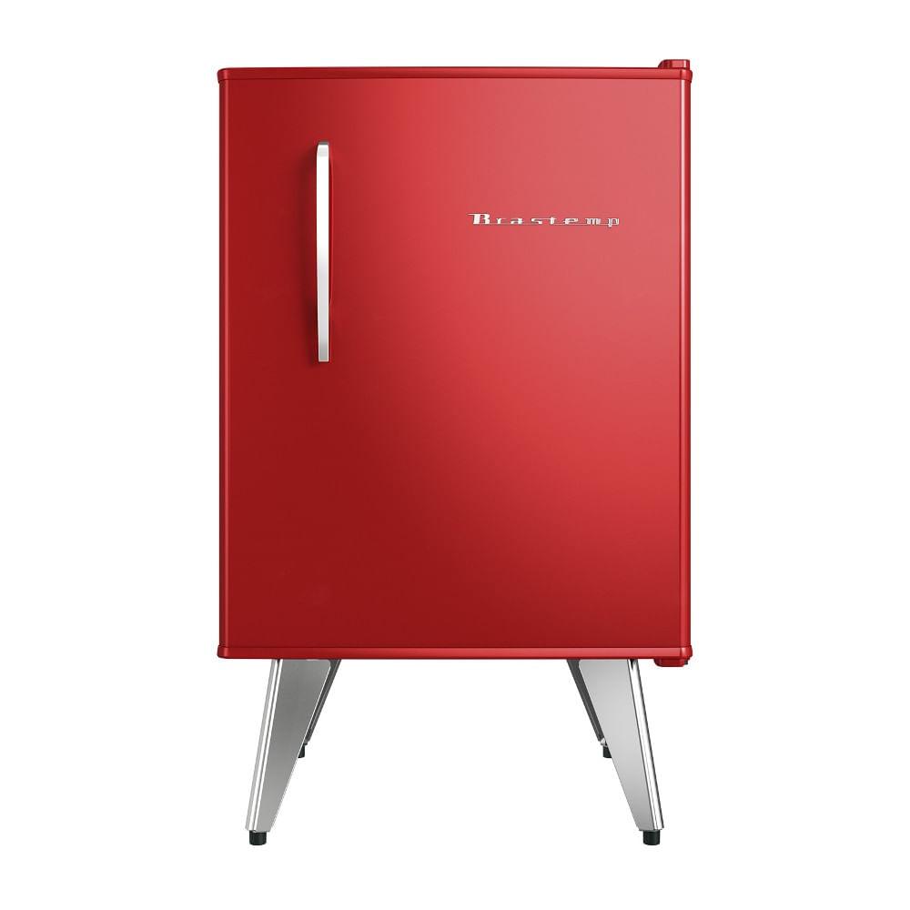 Frigobar Brastemp Retrô 76 Litros Vermelho 110V BRA08AVANA