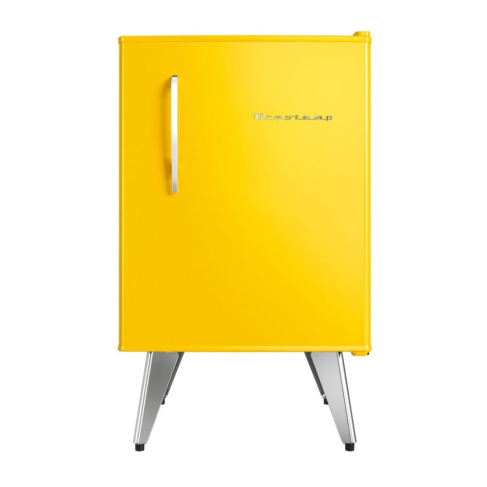 Frigobar Brastemp Retrô 76 Litros Amarelo 110V BRA08BYANA