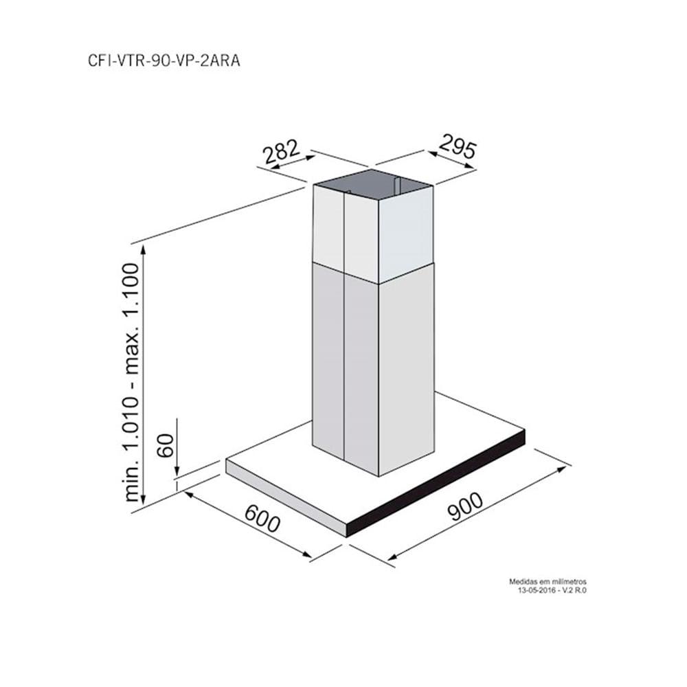 Coifa_ilha_Elettromec_Vetro_90cm_Preto_Inox_220V_CFI-VTR-90-VP-2ATA-COOKELETRORARO-WEB-3