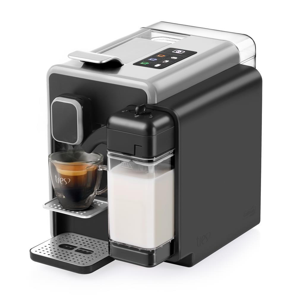 Máquina de Café Espresso Barista TRES Prata 110V 20038959