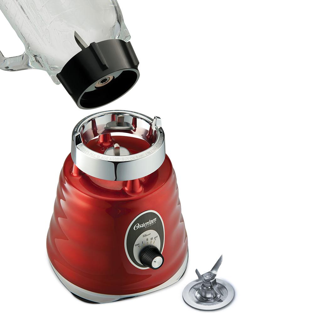 Liquidificador-Classico-Oster-Potencia-600W-Copo-Vidro-vermelho-110V-3