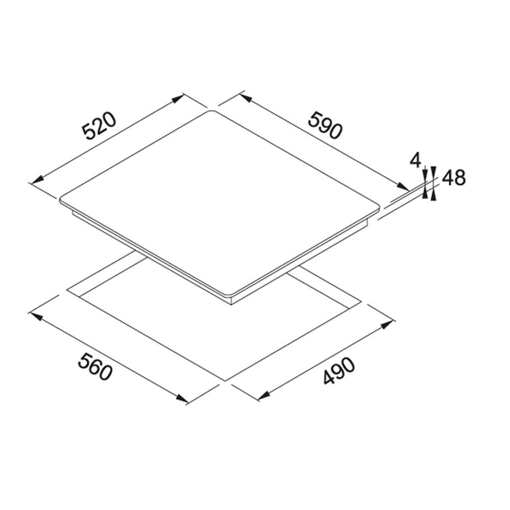 15095-COOKTOP-FRANKE-2Q-IND-FLEX604-220-1