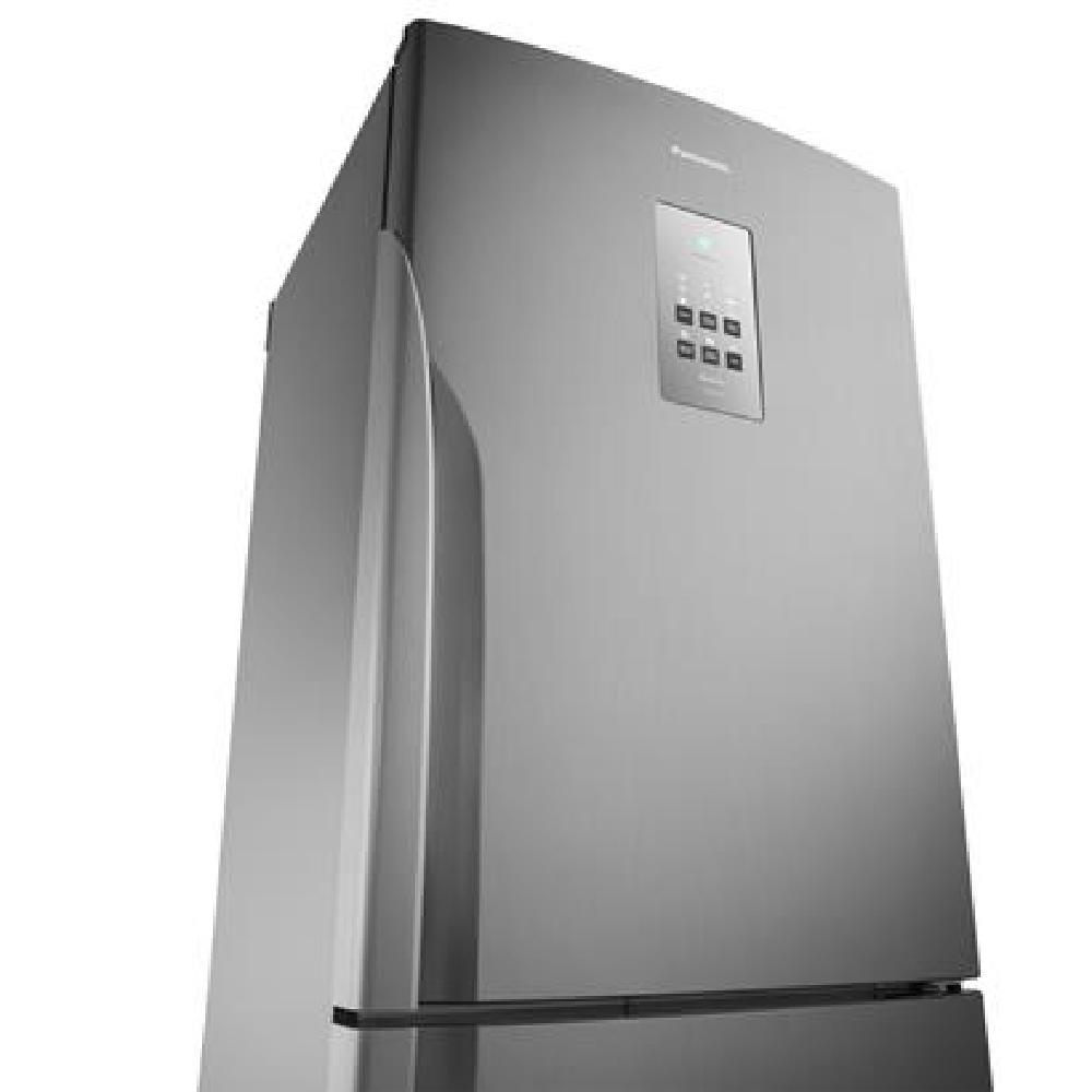 Geladeira Panasonic Inverter Duplex Frost Free 425 Litros Inox 110V NR-BB53PV3XA