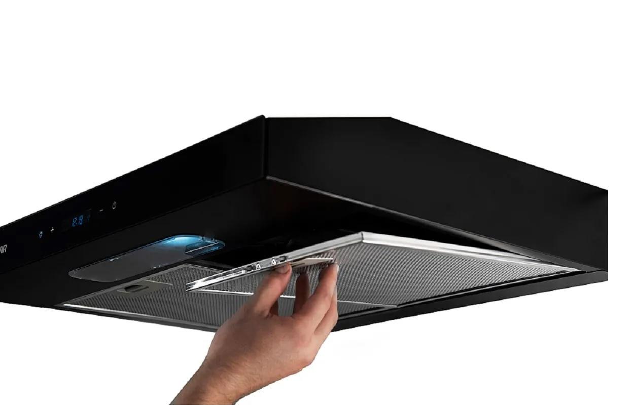 Depurador de Ar Suggar Slim Touch 60 CM Preto DI61THPT 110V