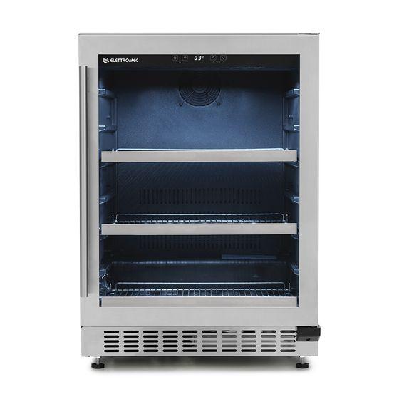 Geladeira/refrigerador 135 Litros 1 Portas Inox - Elettromec - 220v - Fb-bi-135-xv-2ata