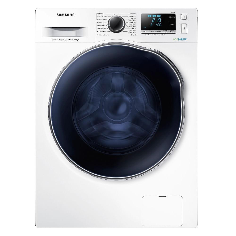 Lavadora e Secadora Samsung 11kg Branca 220V WD11J64E4AWFAZ