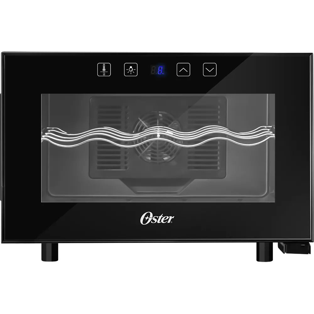 Adega Oster 8 Garrafas Touch Control Preta Bivolt OADE081-BIV