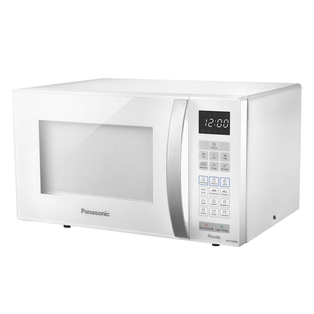 Micro-ondas Panasonic Style 32L Branco 220V NN-ST65HWRUK