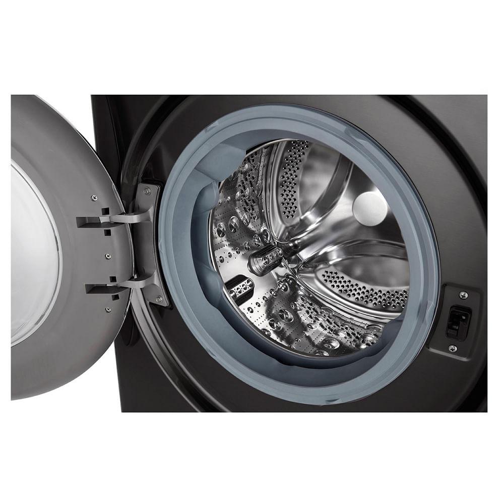 Lavadora e Secadora LG Smart VC2 11Kg Black Stainless 220V CV9011EC4A.ABLGBR