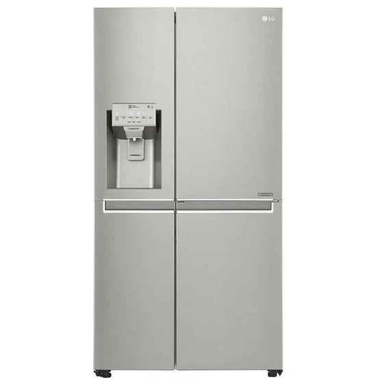 Geladeira/refrigerador 601 Litros 3 Portas Inox Side By Side - LG - 110v - Gs65sdn1