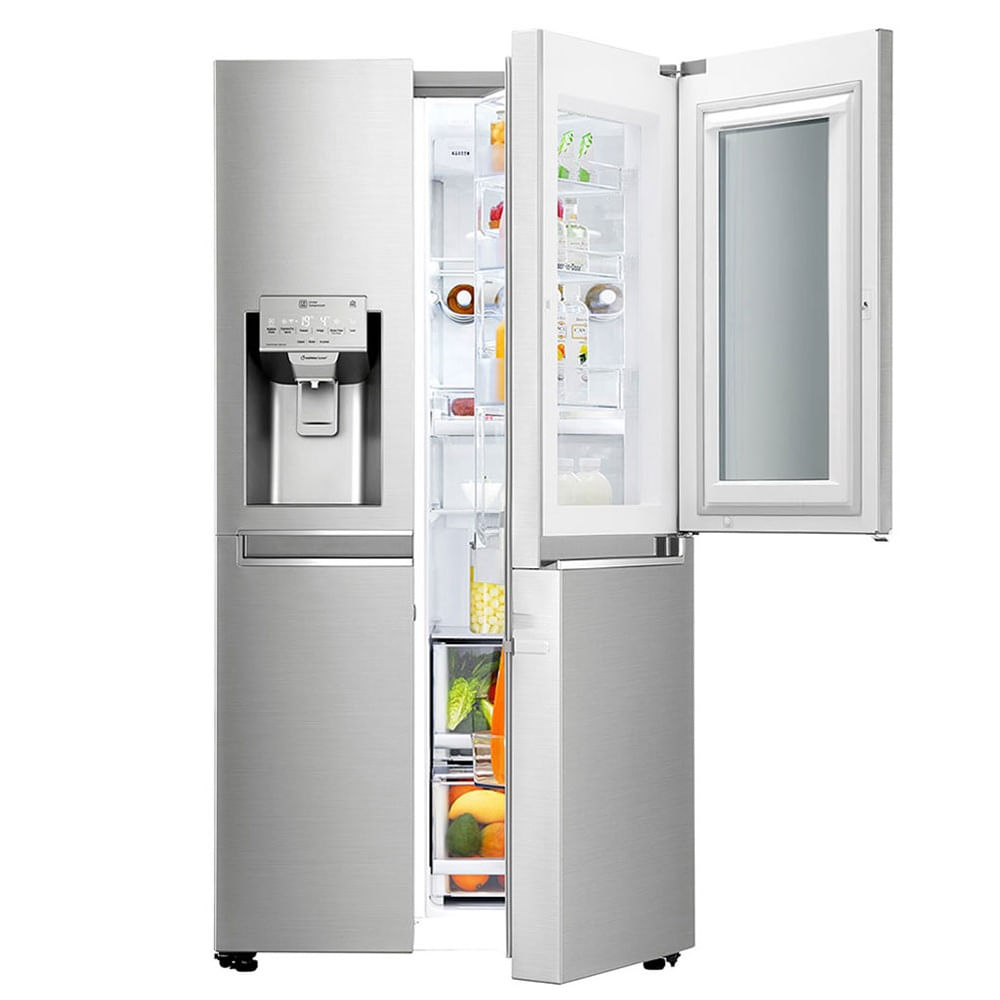 Geladeira LG Side By Side InstaView Door In Door 601 Litros Inox 110V GC-X247CSBV.ANSFS