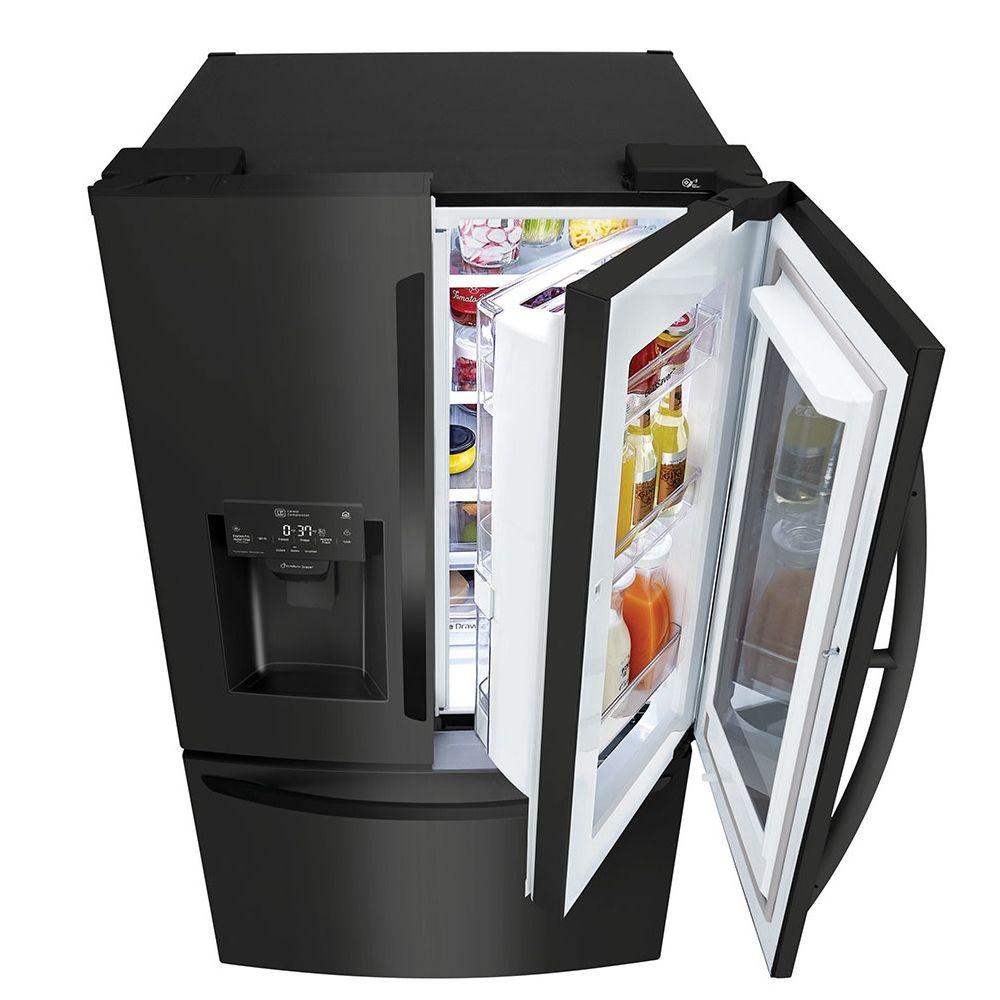 geladeira-french-door-preta-110v