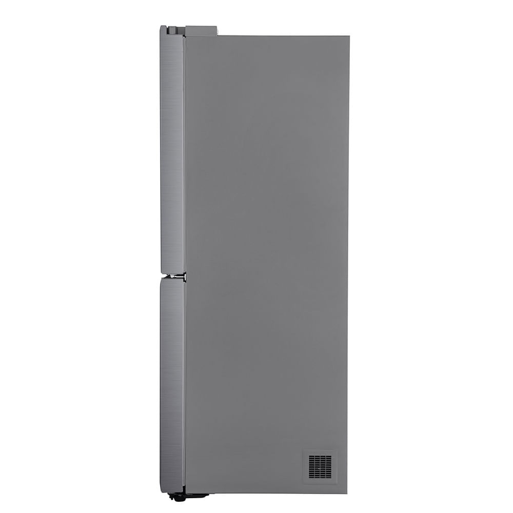 Geladeira LG Smart French Door 428 Litros Aço Escovado 220V GC-L228FTL1