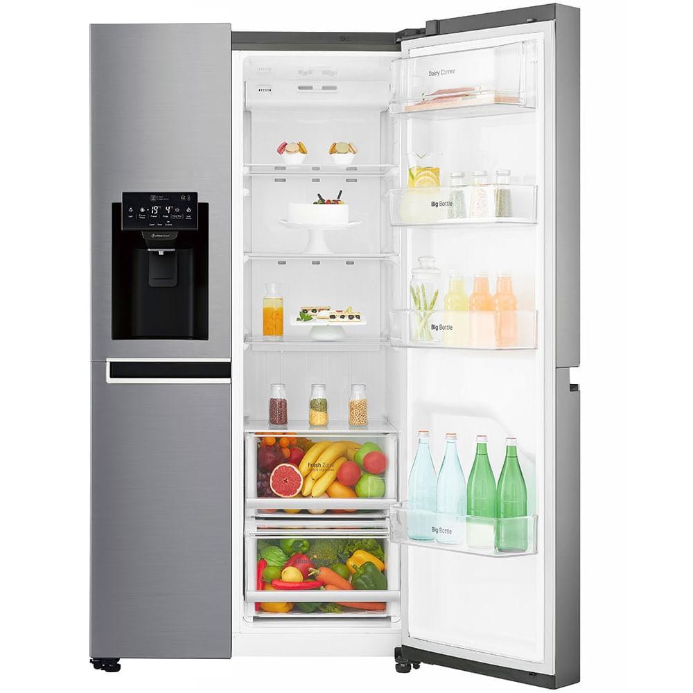 geladeira-lg-side-by-side-aco-escovado-110c