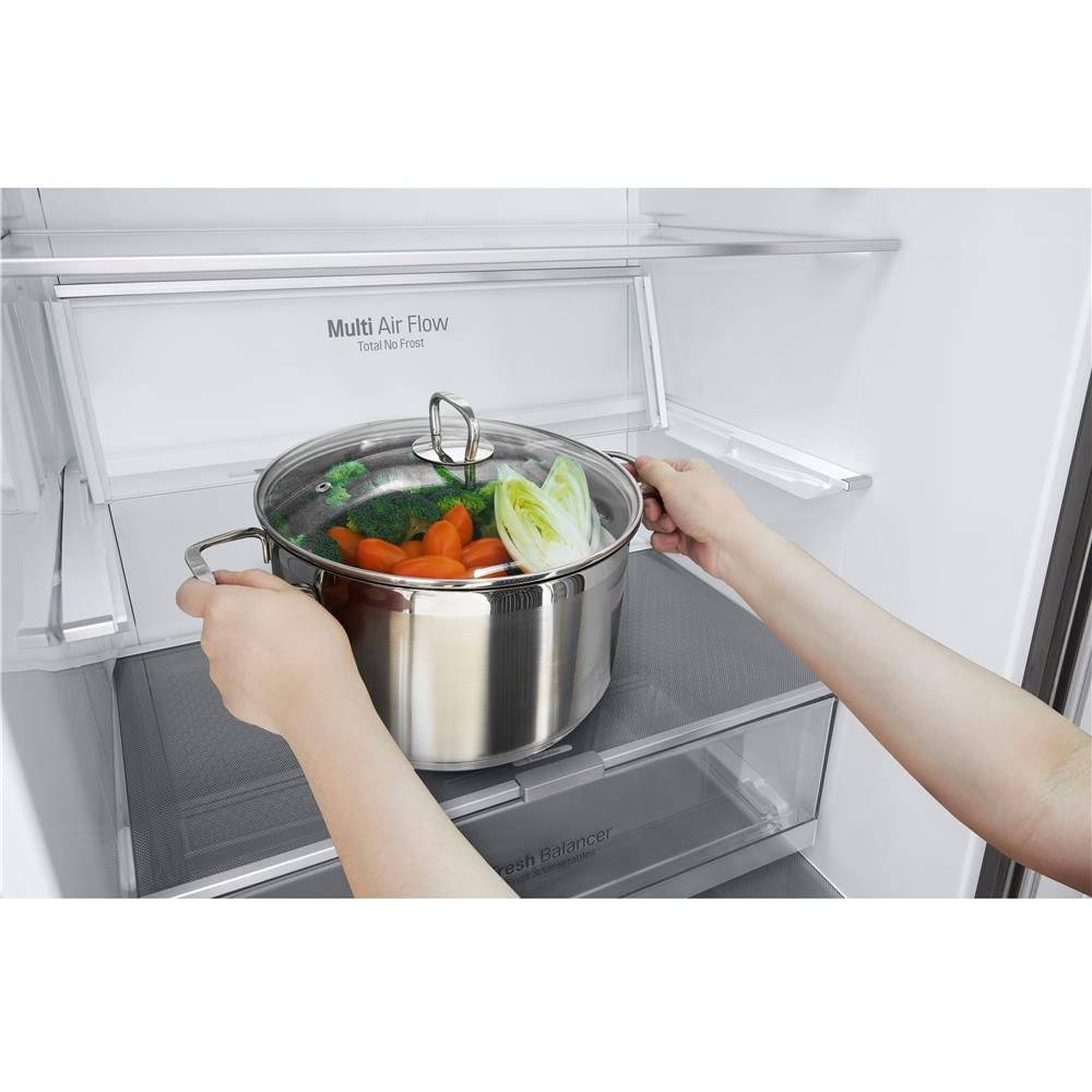 geladeira-lg-bottom-freezer-110-volts-inox