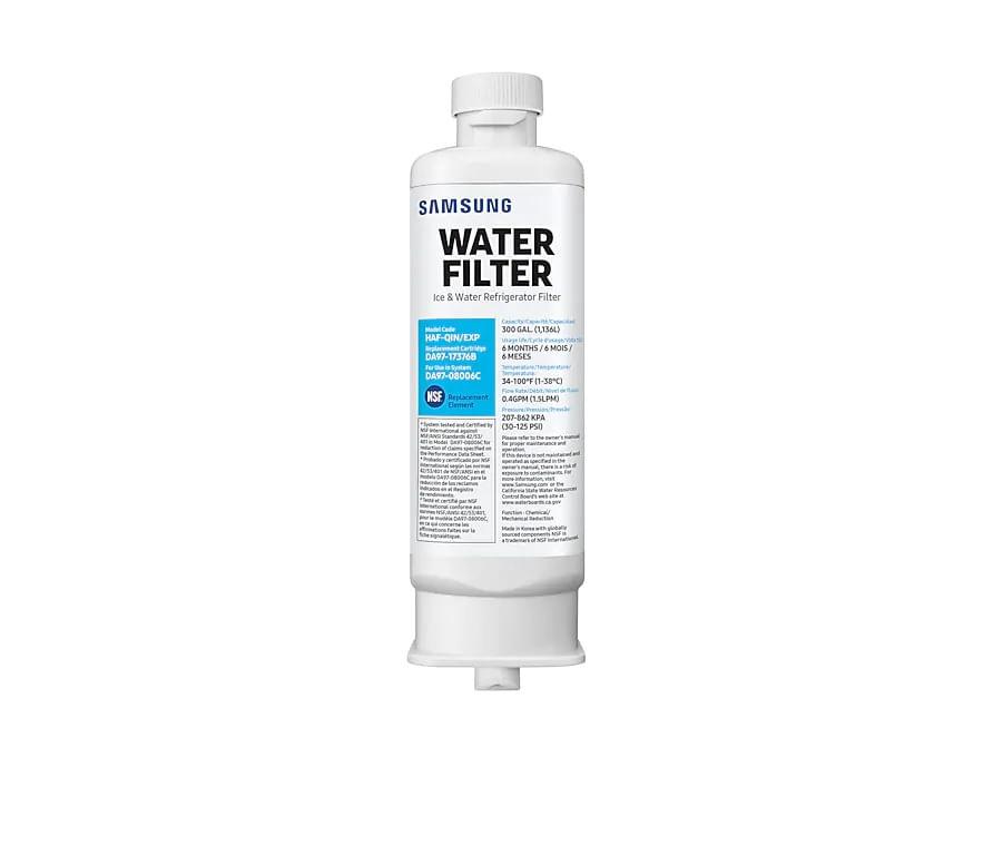 Filtro/Refil de Água Interno Samsung Troca Fácil para Geladeira French Door HAF-QIN/EXP