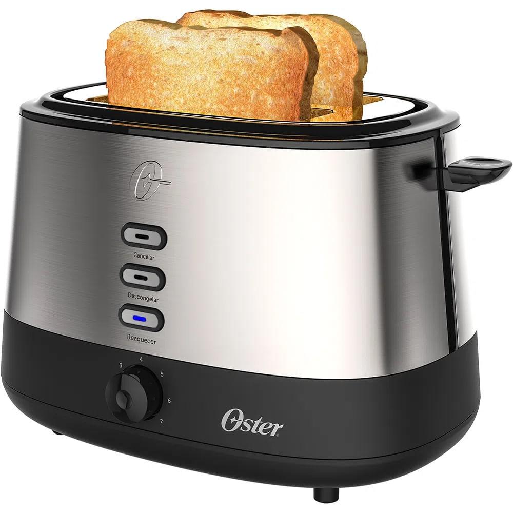 Torradeira Elétrica Oster Breakfast Day Light Inox 110V OTOR500