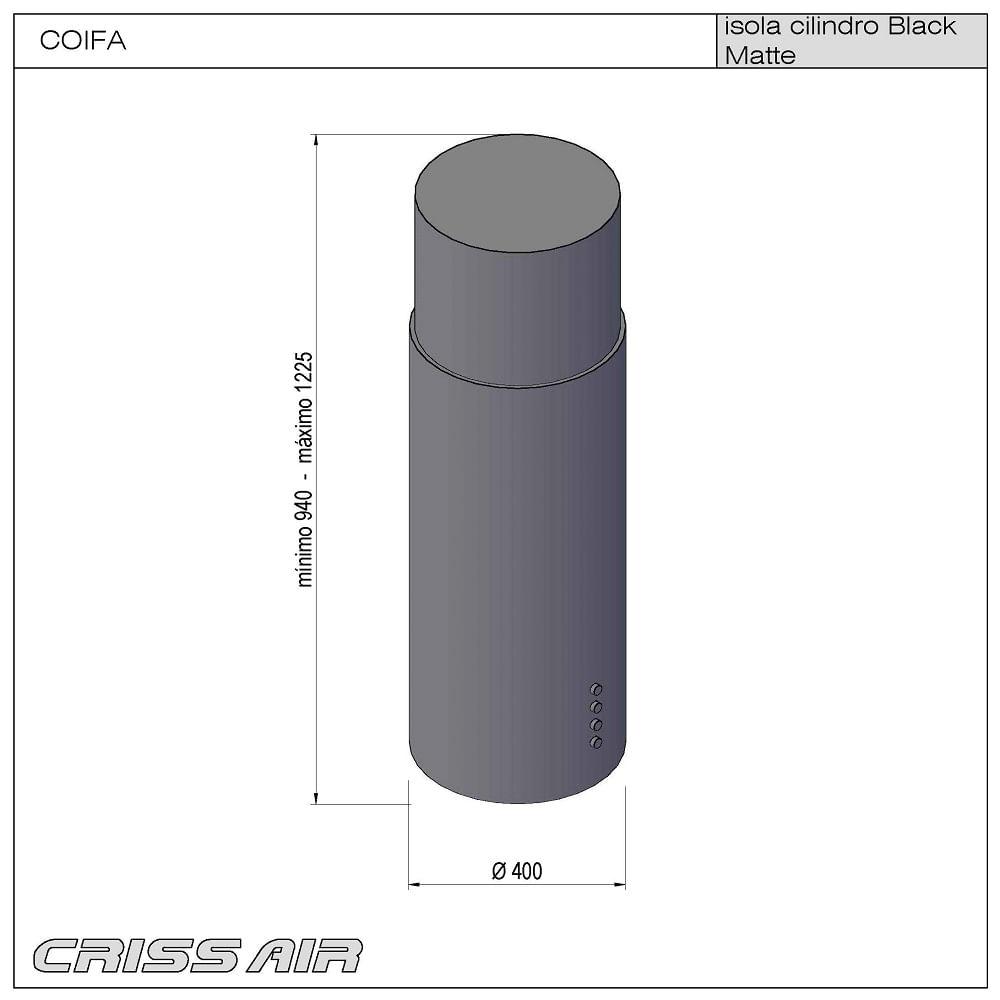 Coifa-Central-Isola-Cilindro---Black-Matte-2