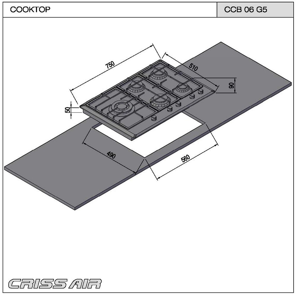 Cooktop-inox-a-gas-CCB-06-G5-2