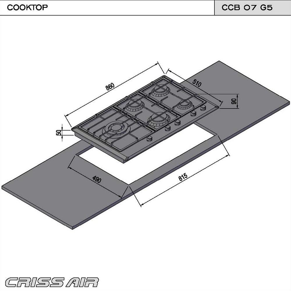 Cooktop-inox-a-gas-CCB-07-G5-2