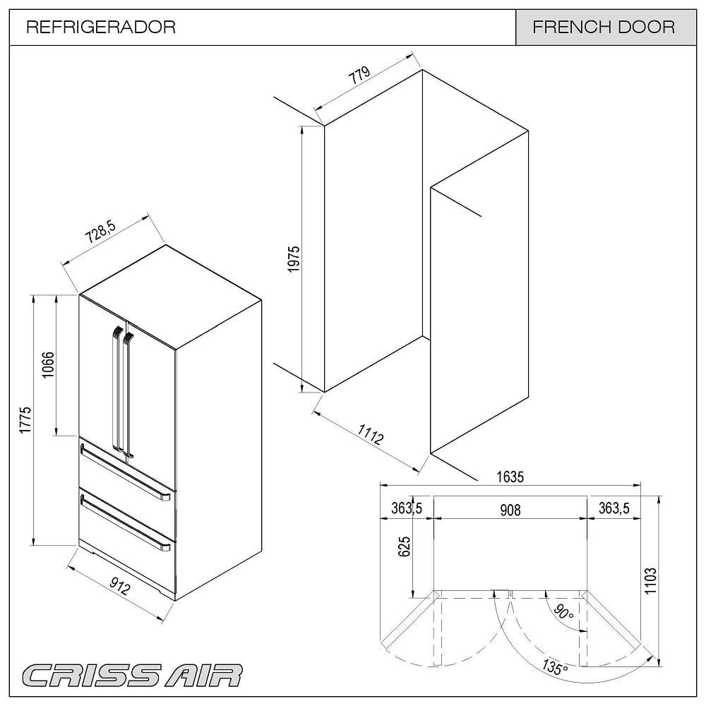 Refrigerador-French-Door-Inox-127V-6