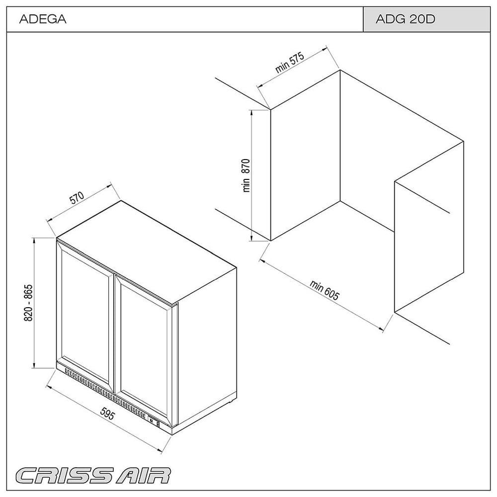Adega-e-Frigobar-de-Embutir-Crissair-ADG-20D-116-Litros-Inox-60cm-2