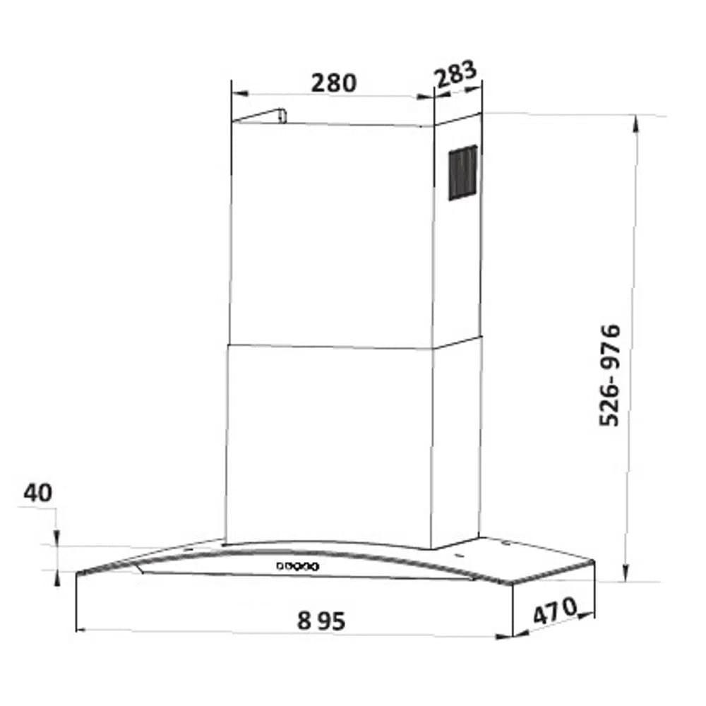 coifa-de-ilha-franke-90-cm-110-volts