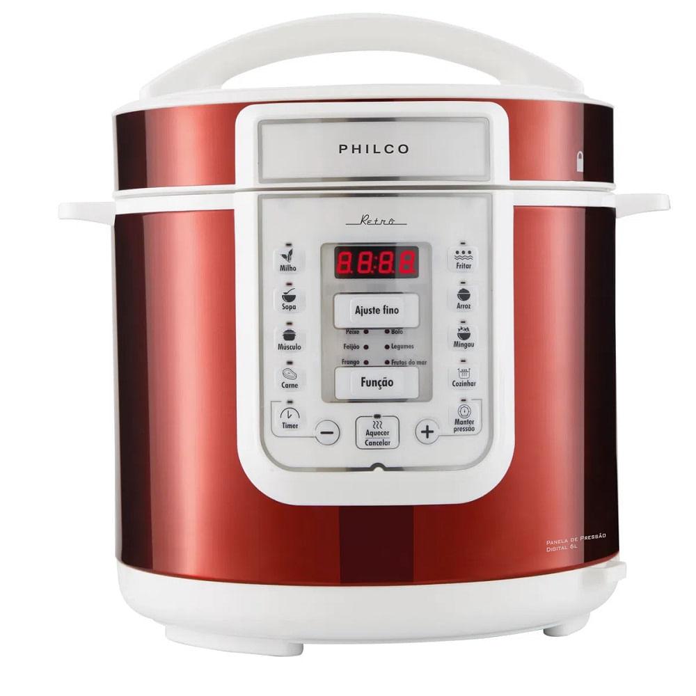 Panela de Pressão Philco 6L Retrô 110V PPP01VB 56401065