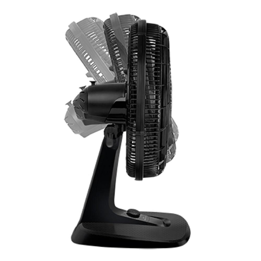 Ventilador de Mesa Arno Ultra Silence Force Desmontável 40cm Preto 110V VD40