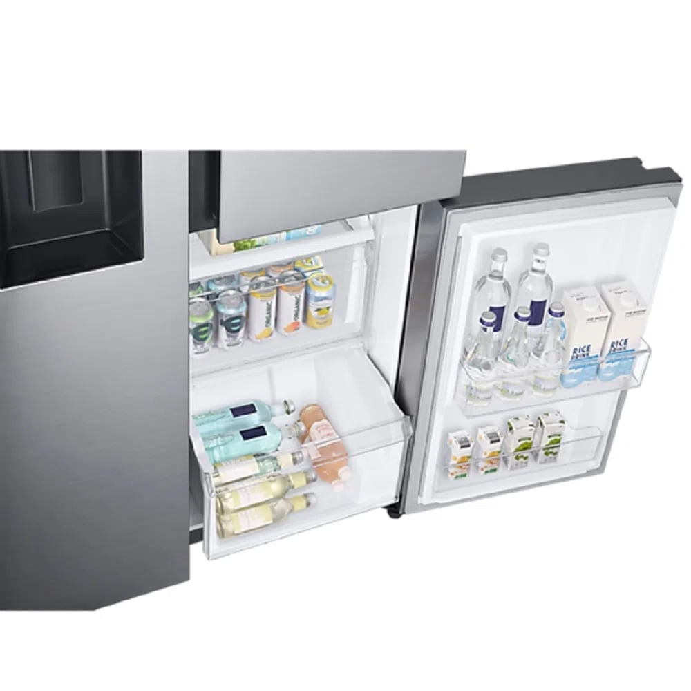 Geladeira Samsung Side by Side Inverter 601 Litros Inox Look 110V RS65R5691M9/AZ