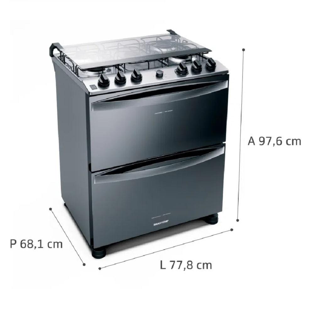 fogao-brastemp-inox-2-fornos