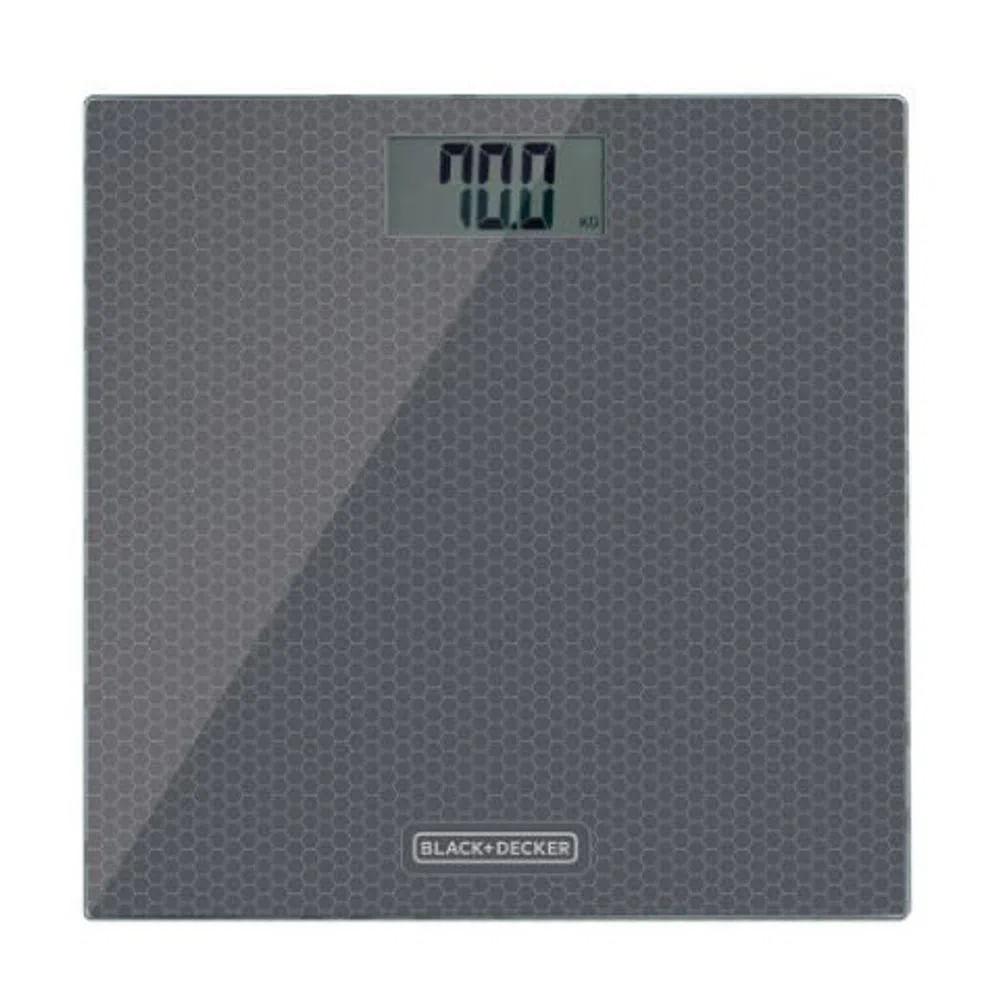 Balança Eletrônica Black&Decker Capacidade 180Kg Cinza BK40-BR