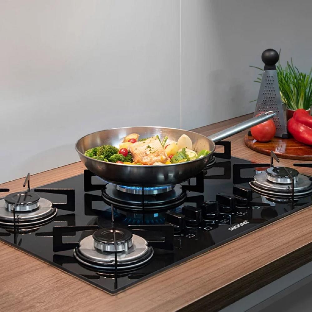 cooktop-suggar-5-queimadores-preto