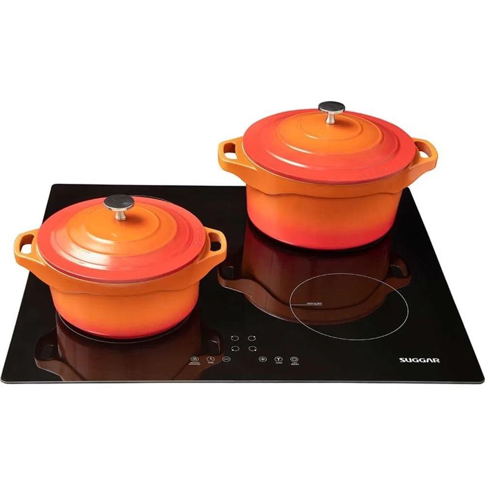 cooktop-suggar-4-queimadores-preto
